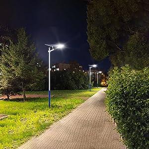200w solar street light