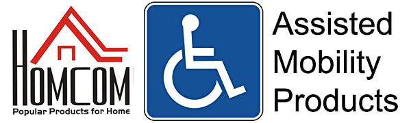 homcom assisted mobility