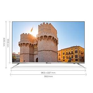 Televisores Smart TV 43 Pulgadas 4K / Android 9.0 / Hbbtv / 1300 ...