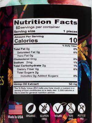 hemp gummies bears natural ingredients calm pain relief sleep anxiety