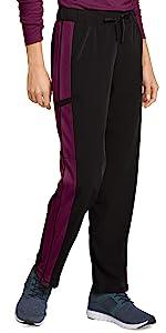 model wearing Jockey 2504 Women's Retro Windsprint Scrub Pant