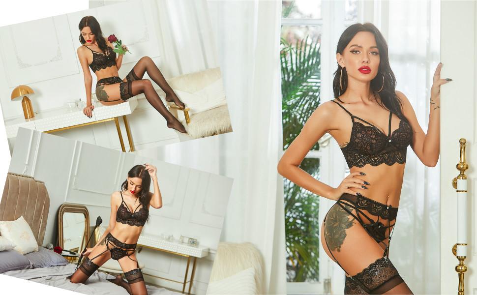 reizwäsche dessous sexy reizwäsche rot reizwäsche frauen sexy lingerie set dessous strapse set