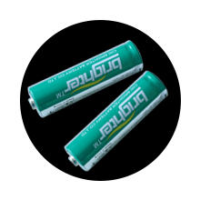 Battery window taper candles