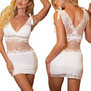 Lingerie for Women Lace Teddy Bodysuit Sexy Baby Doll Chemise Nightwear Sexy Outfits for Women