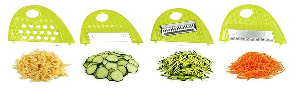 7-in-1 Mandolin Food Slicer Vegetable Chopper Mandolin Dicer grater zester choppers Spiralizer