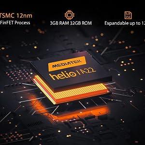 3GB+32GB Blackview BV4900 Phone