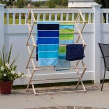 Pool Towel Drying Rack