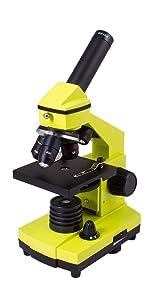 Levenhuk Rainbow 2L PLUS Microscope (in 5 colors)