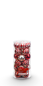 Christmas Ornaments 24ct 2.36 inches