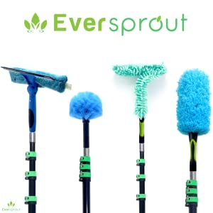 eversprout 4pack with extension pole