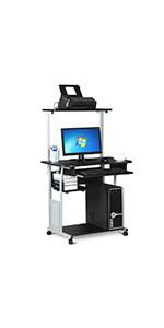 2 Tiers Computer Desk