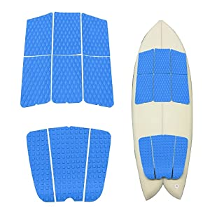Los 5 EVA Surfboard Foot Traction Pad Tail Pad Für  Surfing Boat Deck