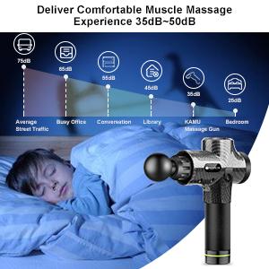 quiet massage gun