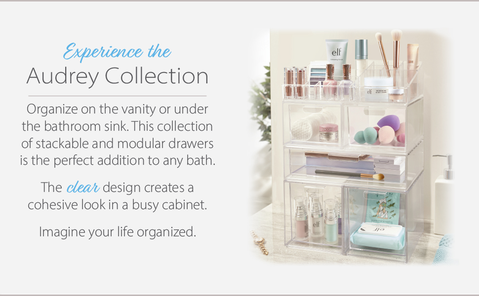 Audrey Stackable Drawers