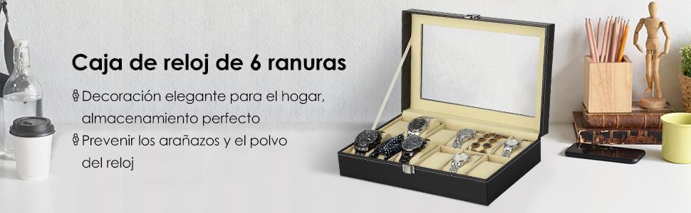 Relojes Caja de Reloj