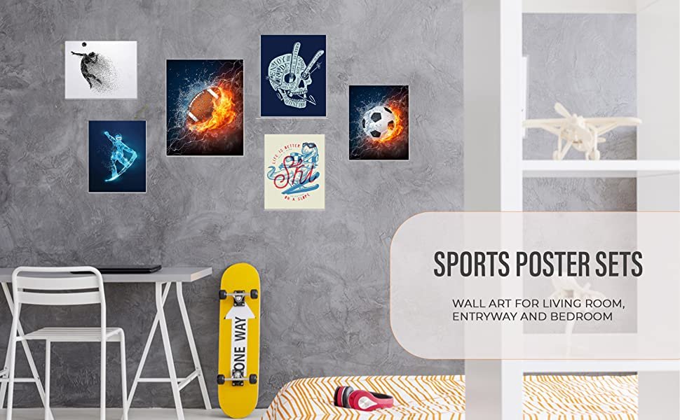 Sports Poster Sets