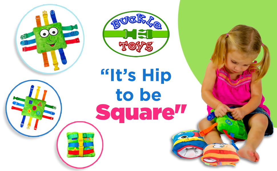 toddler plush Montessori buckle travel zipper therapy skills colors teaching preschool
