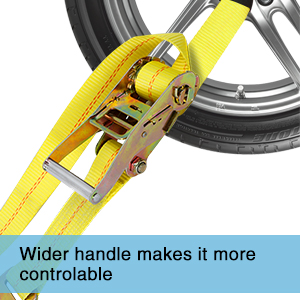 """72f698dd 0aaf 4685 9262 514a4b9ee382. CR0,0,300,300 PT0 SX300 V1 - Trekassy 2""""x 120"""" Wheel Net Car Tie Down Straps Heavy Duty with Flat Hooks, 3333lbs Safe Working Load, 4 Pack Ratchet for Trailers with 8 Tire Straps, 2 Axle Straps"""