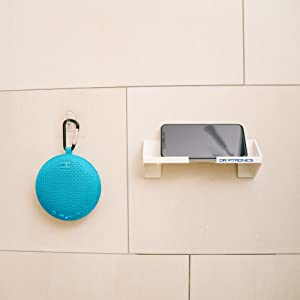 Driptronics Portable Speaker With Phone Holder