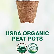 organic peat pots