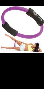 Amazon.com : Yoga Wheel - 13 Strong & Comfortable Dharma ...