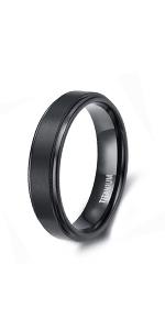 6mm black rings