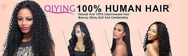 Brazilian straight virgin human hair bundles with closure