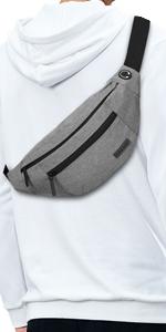 waist bag for unisex