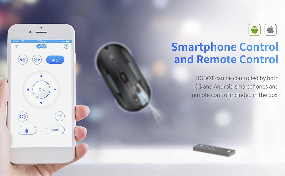 hobot-388 smartphone control