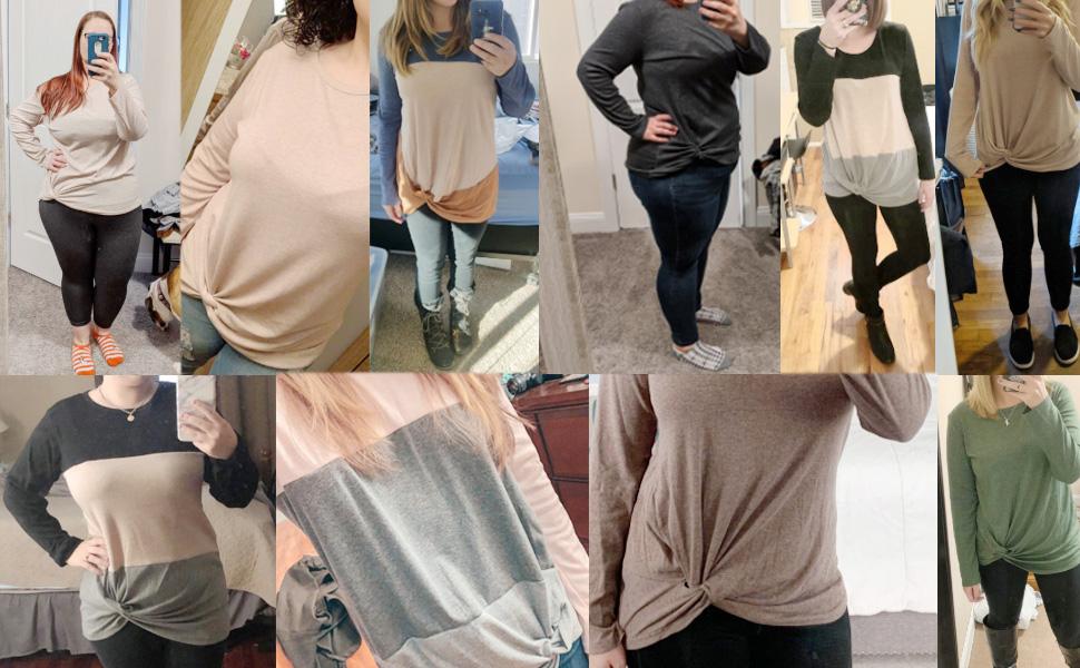 long sleeve tshirts for women