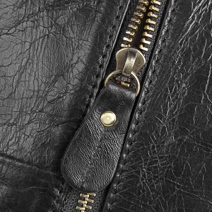 High quality zipper laptop backpack