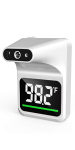 thermometer on wall