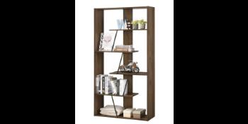 Furnitela Living Room Furniture Bookshelf Wood Brown