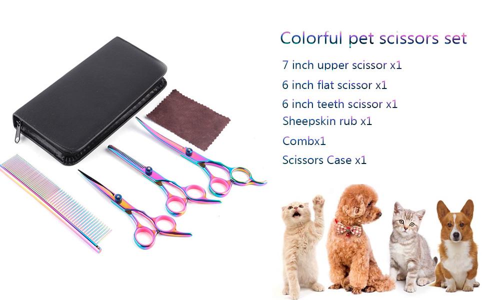 Dog Cat Grooming Scissors