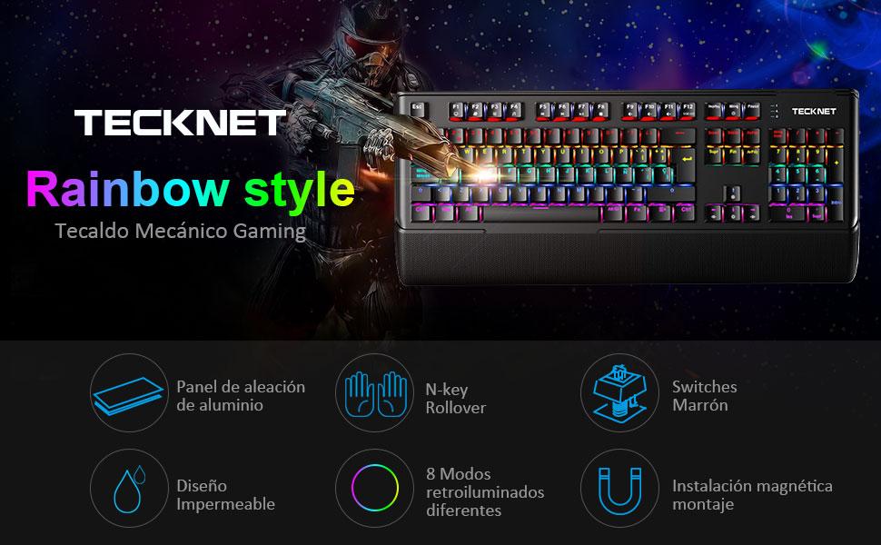 teclado mecanico gaming
