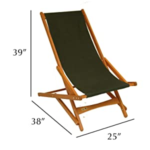 byer maine pangea keruing wood outdoor furniture campaign chair camp patio duck canvas armrest