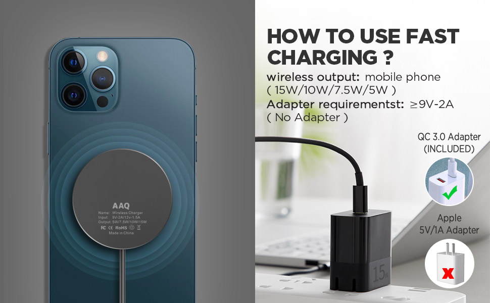 mag-safe wireless charger