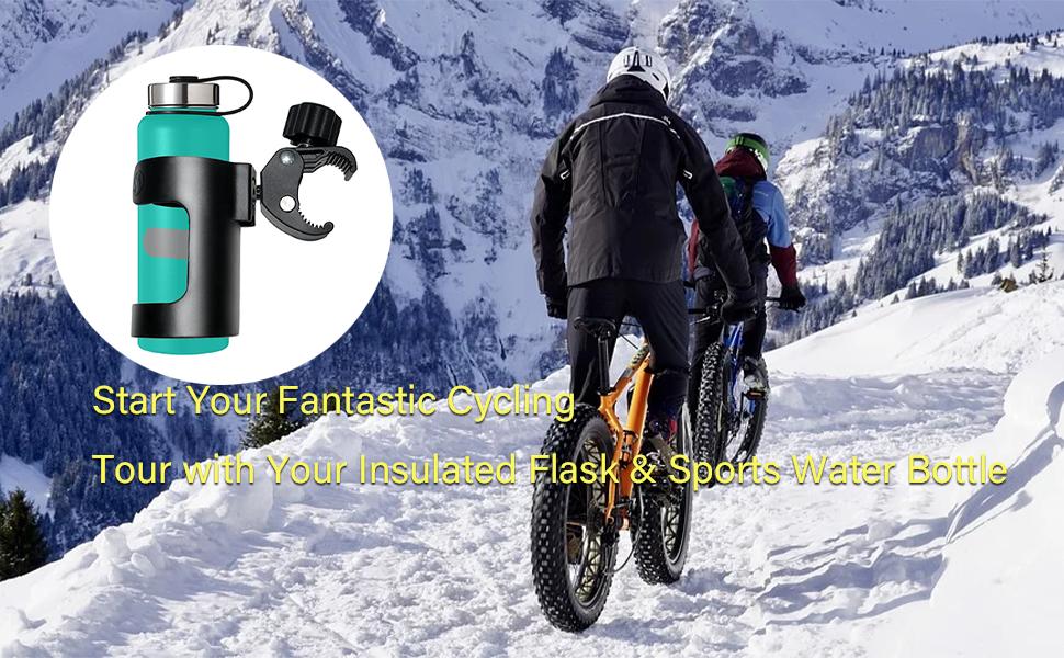 Adjustable Bicycle Drinking Bottle Holder Cup Holder Cup Holder P1B8