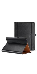 Stand Folio Case Protective Cover - Black