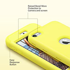 ipod touch 6 cases yellow