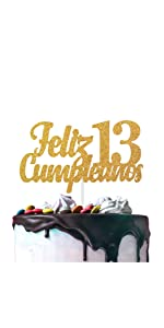 Official Teenager 13 Birthday Cake Topper - Boys Girls 13th ...
