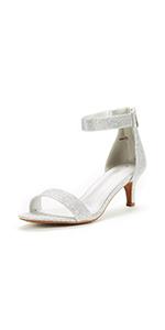 womens High Heel Fashion Stilettos Peep Toe Pump Heeled Sandals