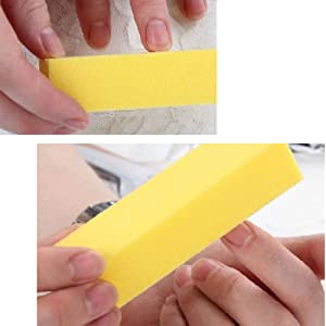 4 Way Colorful Nail Buffers Block
