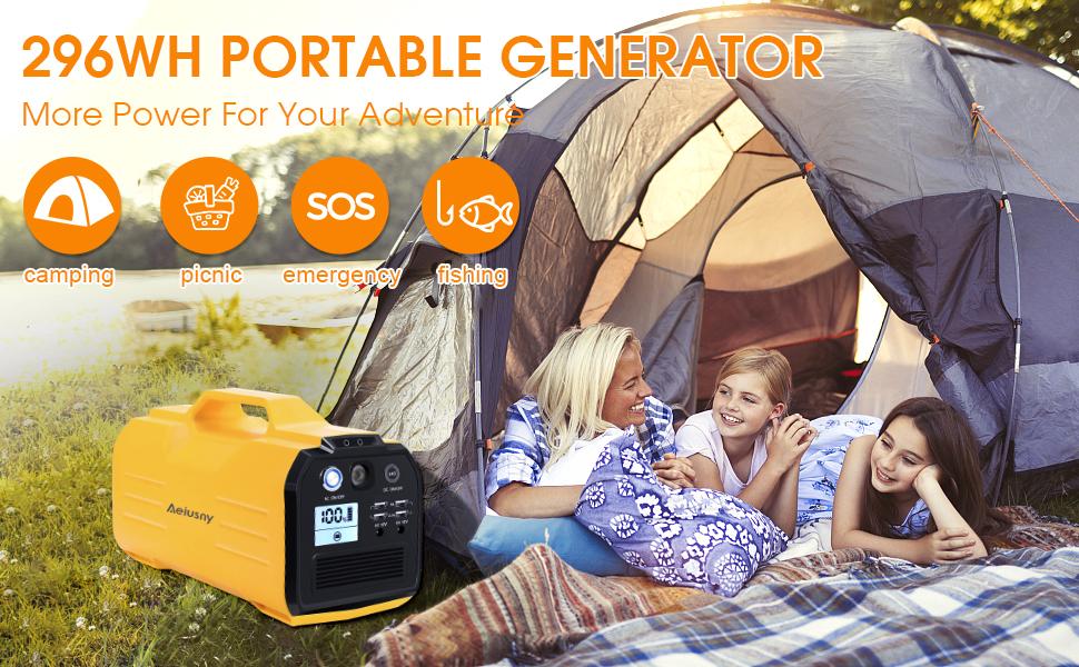 portable generator power station