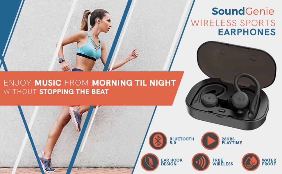 wireless sports earphones