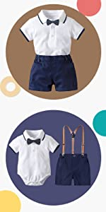 Yilaku Sommer Pyjama Anz/üge,Baby Jungen M/ädchen Bio Bambus Baumwolle lose 7-Punkt-/Ärmel klimatisierte Kleidung Pyjama Nachtw/äsche