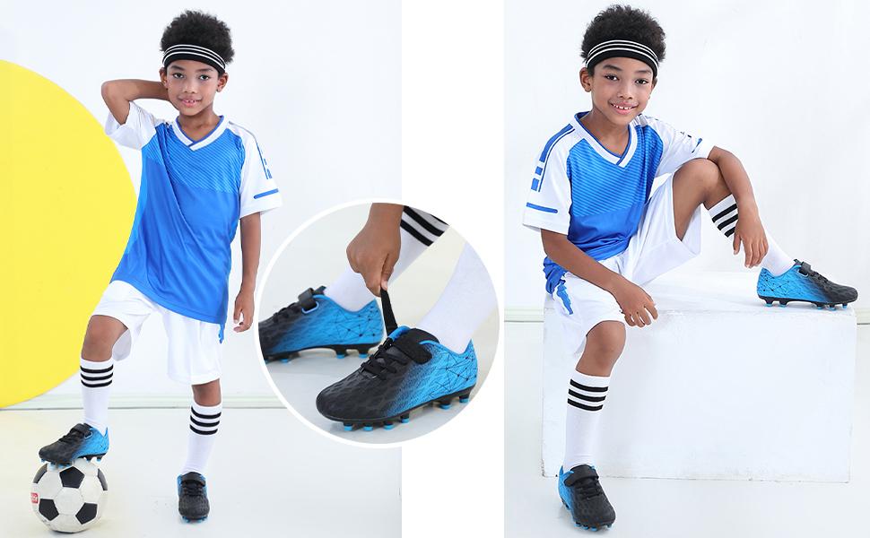 Boys Outdoor Soccer Shoes