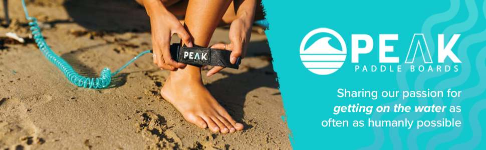 Peak paddle boards sharing our passion for getting on the water as often as humanly possible