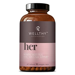 Wellthy her Complete Women's Multi plus hair skin and nail support