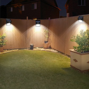 solar backyard lights